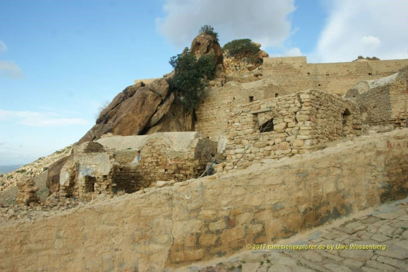 Das alte Berberdorf Zriba Olio bei Zaghouan