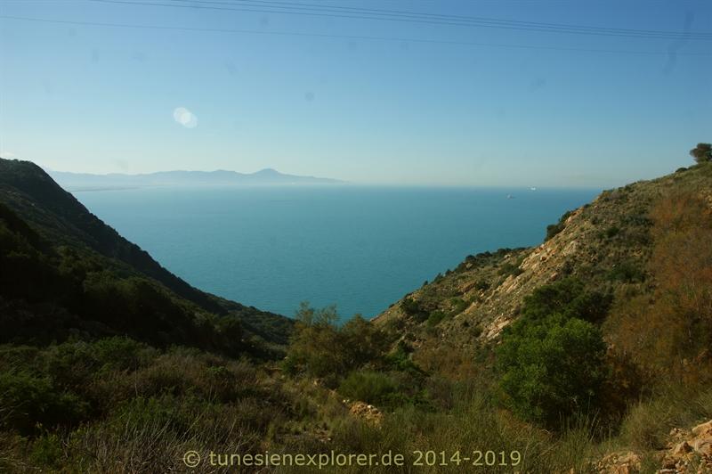 Die Halbinsel Cap Bon