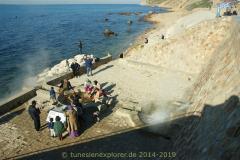 Die Halbinsel Cap Bon - Die heißen Quellen von Korbous