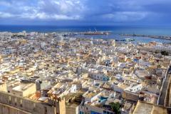 Sousse Medina aus der Luft