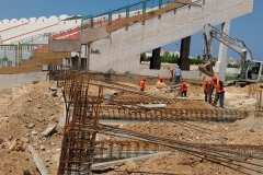 Olympiastadion Sousse - Beginn der Bauarbeiten am 11. Juni 2019