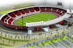 Olympiastadion Sousse - Planungsbild