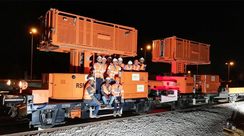Schnellbahnnetz Tunis (RFR) Bau