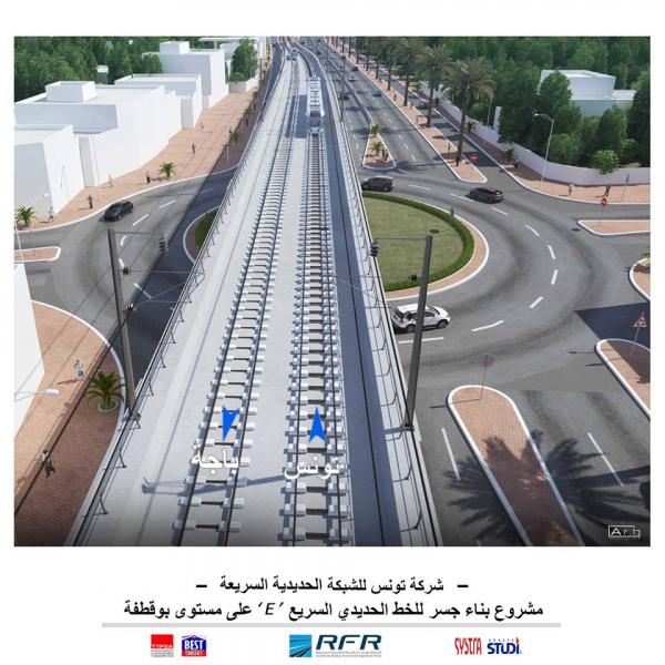 Schnellbahnnetz Tunis (RFR) Planung