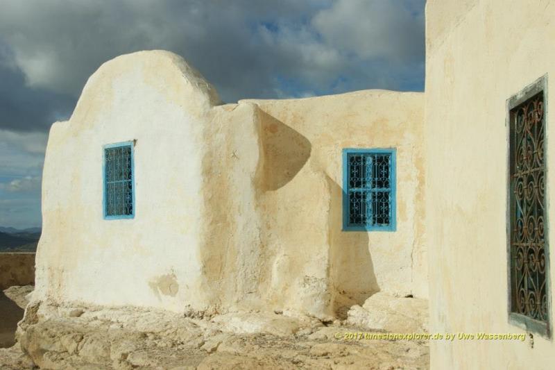 Das Berberdorf Takrouna bei Enfidha