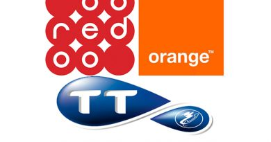 Telefonanbieter Orange, Tunisie Telecom, Ooredoo