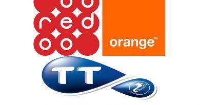 Telefonanbieter Orange, Tunisie Telecom, Ooredoo