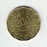 200 Millimes Münze