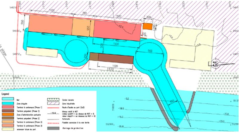 Enfidha Tiefwasserhafen Plan