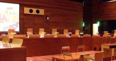 Europäischer Gerichtshof - Sitzungssaal