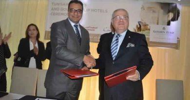 Tunisair und Golden Tulip Hotels vereinbaren Zusammenarbeit beim Tunisair Vielfliegerprogramm Fidelys