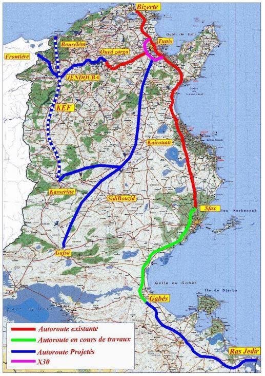 Planung Autobahnausbau aus der Zeit vor 2011