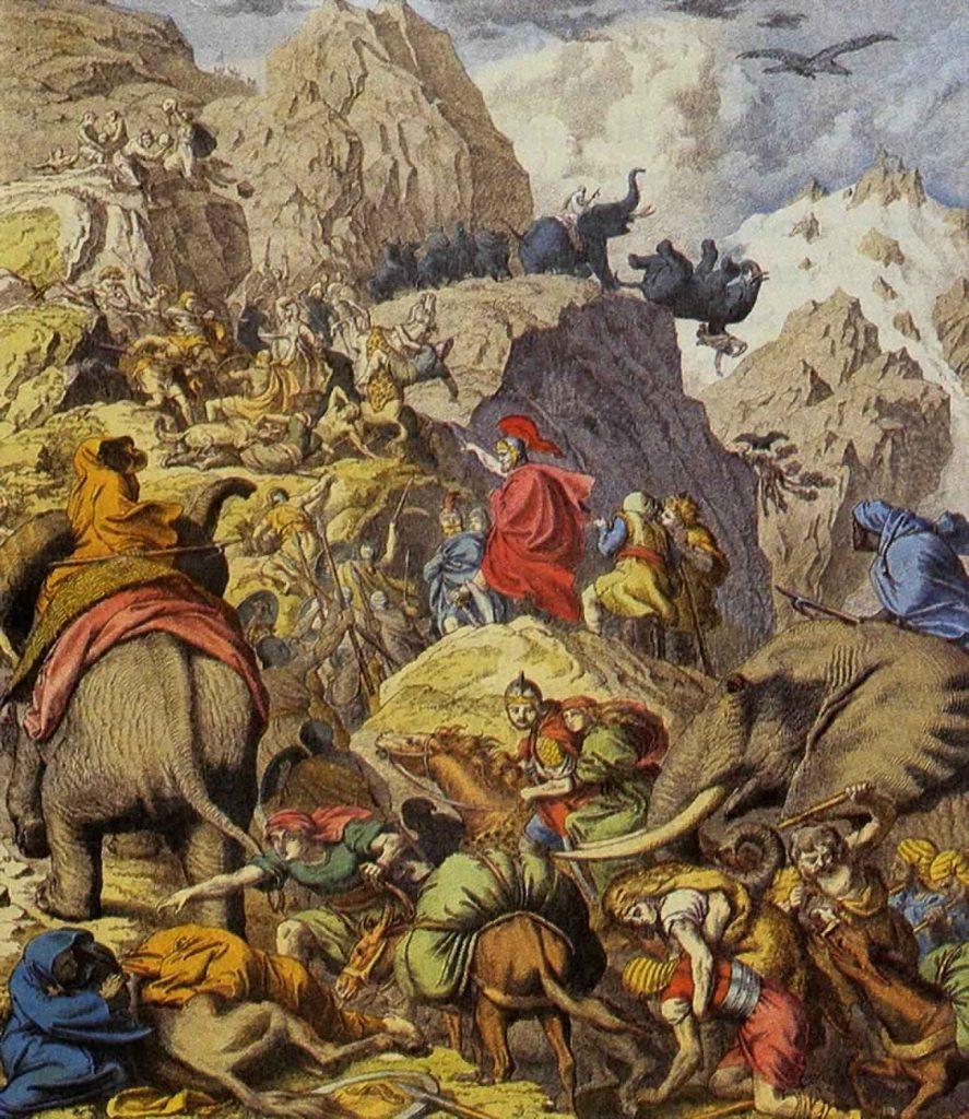 Hannibals Zug über die Alpen
