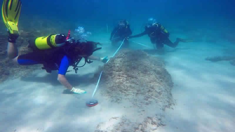 Neapolis - Unterwasserarchäologie