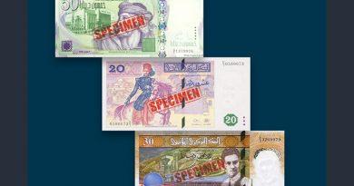 Ungültige Dinar-Banknoten ab 31.12.2017