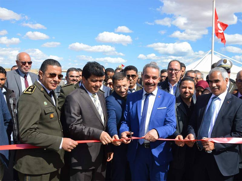 Einweihung einer Teilstrecke der Autobahn Sfax-Gabes am 19. März 2018