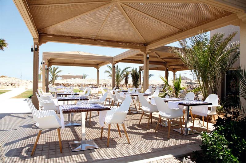TUI BLUE Palm Beach Palace Terrasse