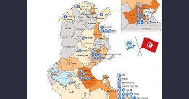 UNHCR unterstützt Einrichtung eines nationalen Asylsystems in Tunesien