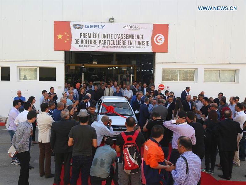 Montagewerk in Sousse - 12.10.2018 Photo credit: news.cn