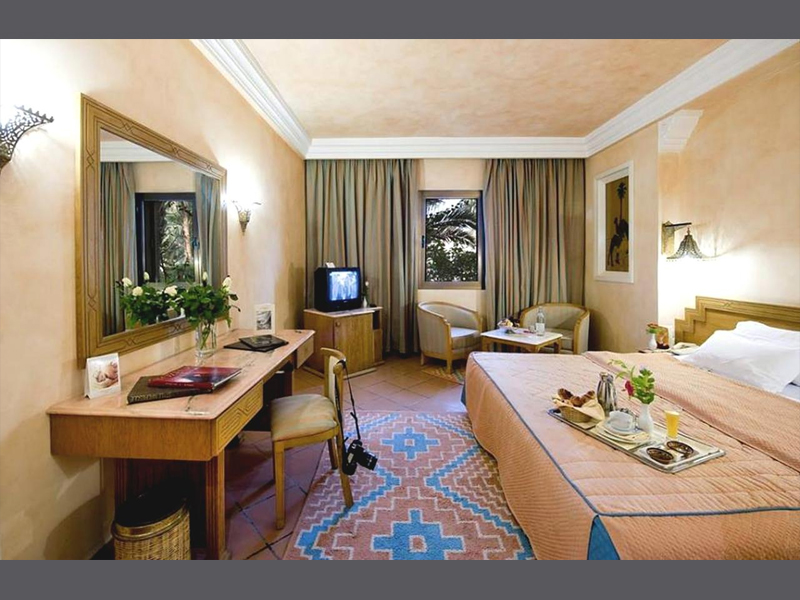 Hotel Palm Beach Palace Tozeur Symbolfoto Zimmer