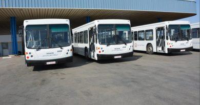 Sousse: Zehn weitere neue Busse für die STS ausgeliefert