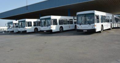 Sousse: Sechs neue Gelenkbusse an die STS ausgeliefert
