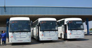 Sousse: Drei Komfortbusse für die STS eingetroffen