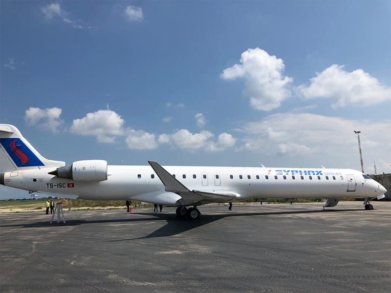 Bombardier CRJ900 TS-ISC