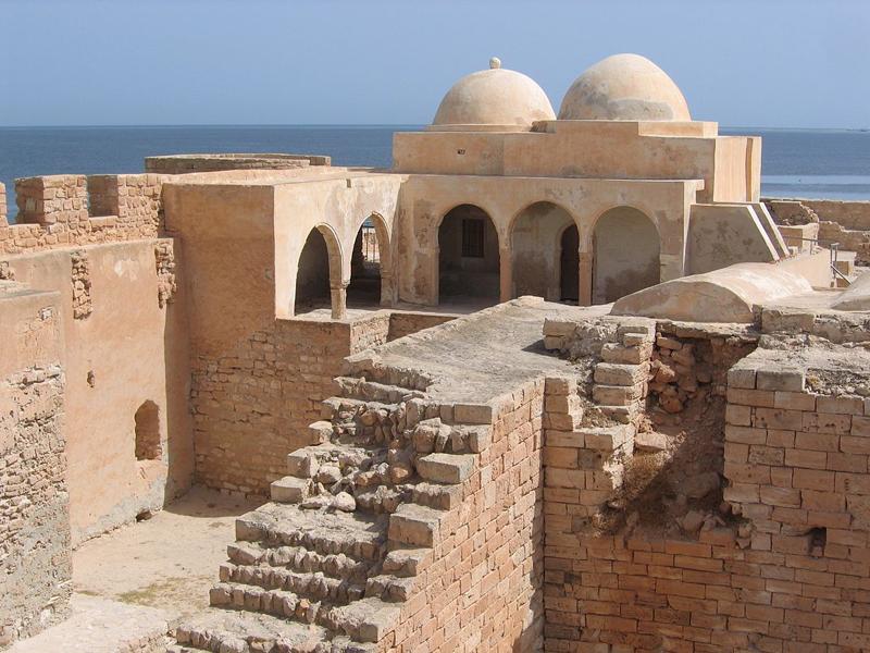 Borj el Kebir in Houmt Souk, Djerba Innenansicht