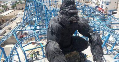 Achterbahn King Kong im Carthageland Yasmine-Hammamet