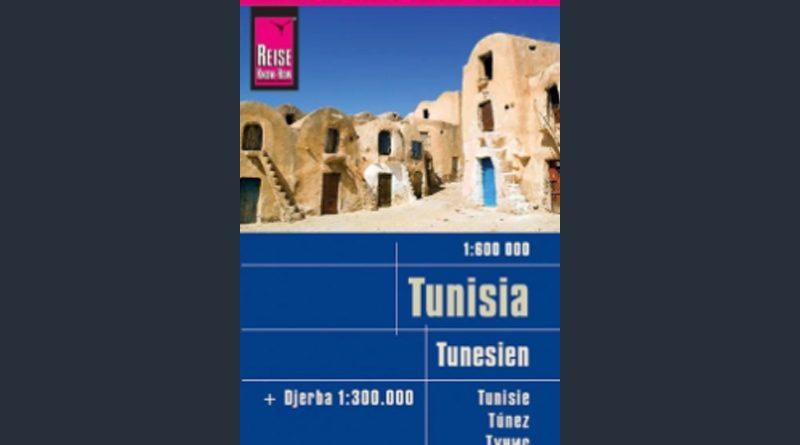 Reißfeste Landkarte Tunesien (1:600.000) mit Djerba (1:300.000)
