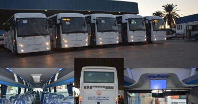 Sousse: Zweite Tranche neuer Busse eingetroffen