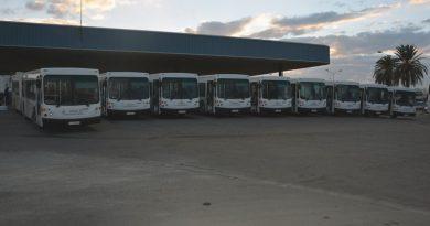 STS Busse im Depot
