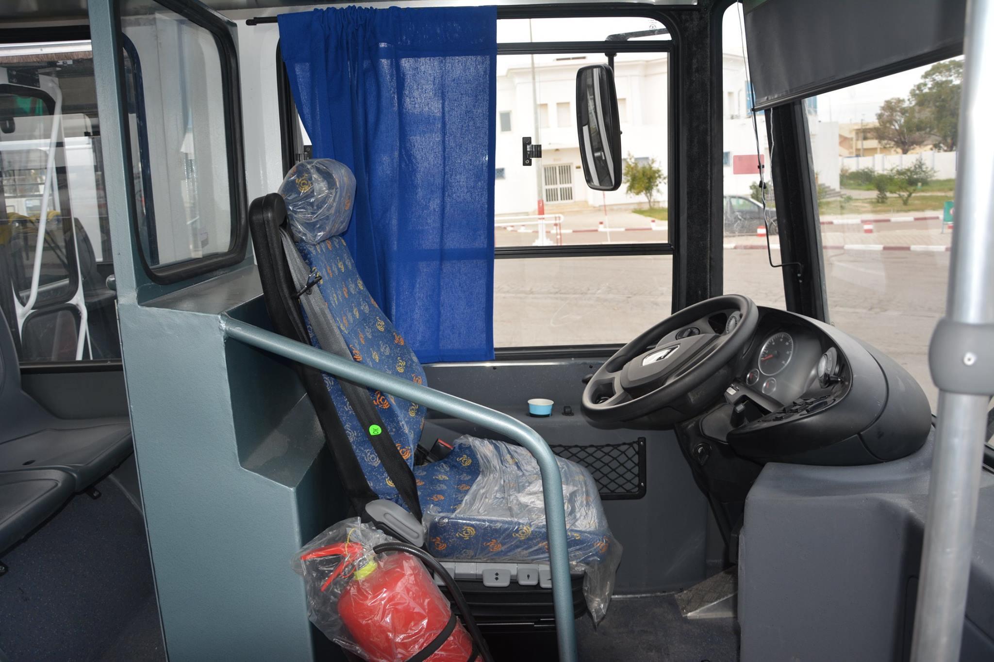 MAN Alphabus der STS - Führerstand