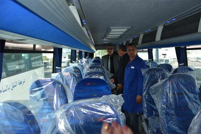 STS Komfortbusse Innenausstattung