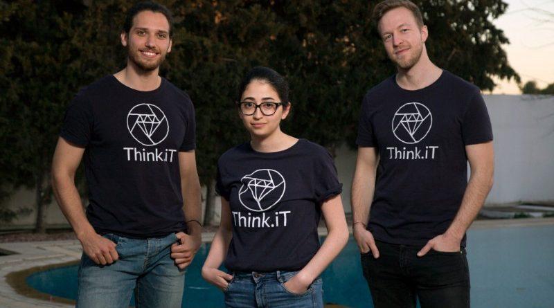 Gründer Think.iT: Mehemed Bougsea, Amel Abid und Joscha Raue (v.l.) (Bild: gurian.de)