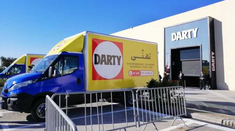 Fnac Darty Service und Auslieferung