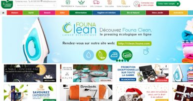 Startseite des Online-Supermarktes founa.com