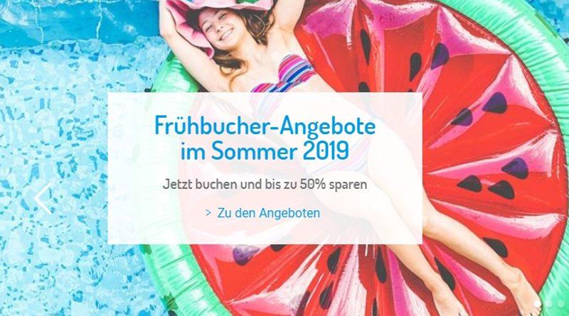 Frühbuchervorteile: Bis zu 55 Prozent bei Jahn Reisen und 50% bei ITS