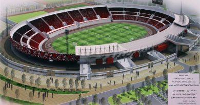 Sousse Olympiastadion Entwurf