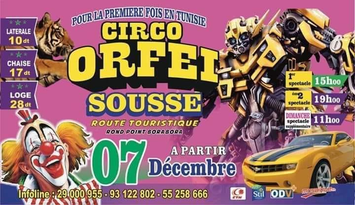 Zirkus Orfei Sousse