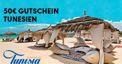 50 Euro Rabatt auf Tunesienreisen bei Neckermann, Thomas Cook, Öger, Bucher und Air Marin