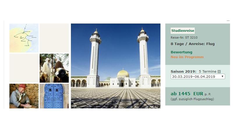 Studiosus Kulturreisen in die arabische Welt wieder stark gefragt