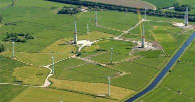 Windpark - Bild: Von Foto: Martina Nolte, Lizenz: Creative Commons by-sa-3.0 de, CC BY-SA 3.0 de, https://commons.wikimedia.org/w/index.php?curid=19673788