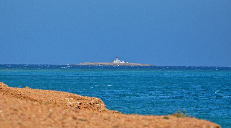 Inseln Tunesiens: Île Plane (Flache Insel) vor Cap Sidi Ali El Mekki