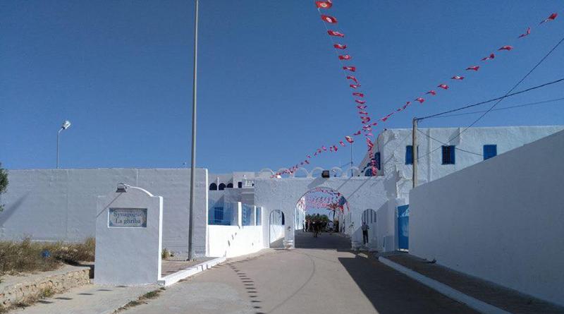 Eingang/Zufahrt zur Synagoge - Bild mit freundlicher Genehmigung von Karlheinz Blaull