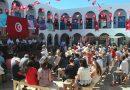 Feierlichkeiten im Innenhof der La Ghriba Synagoge - Foto: Karlheinz Blaull