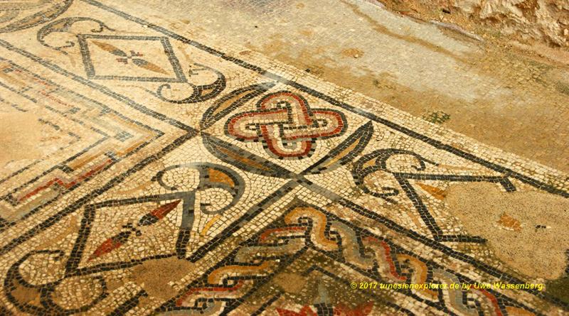 Mosaikfußböden in Dougga
