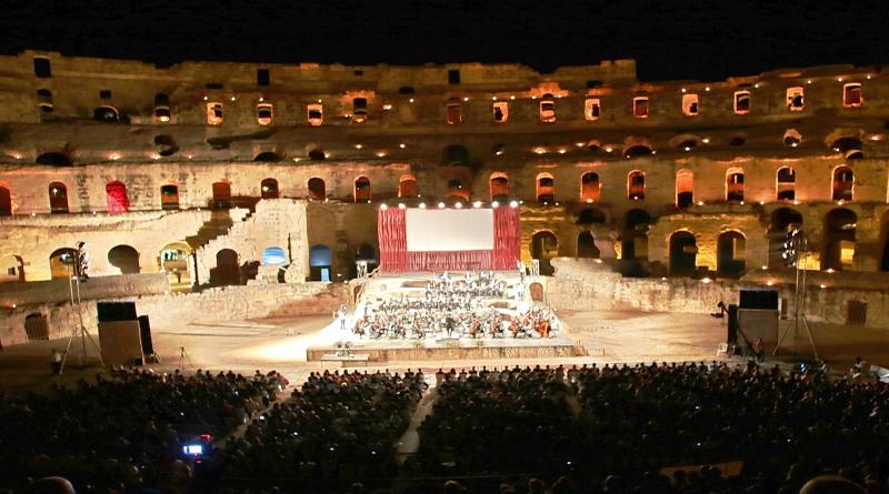Konzertveranstaltung in El Jem