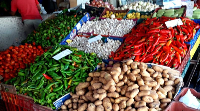 Gemüse - 2164 Tonnen